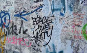 Peace Love Unity- East Side Gallery, Berlin