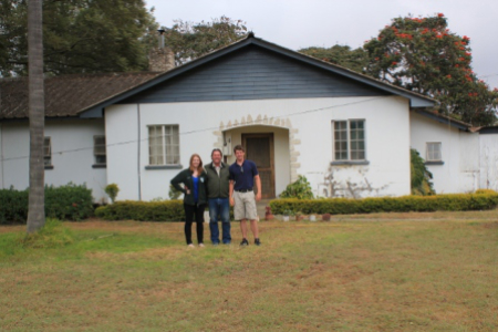 The house in Arusha, Tanzania, where my dad grew up.