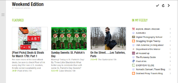 Feedly Featured